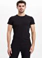 Dagi Compact O Yaka T-Shirt 2'li Siyah